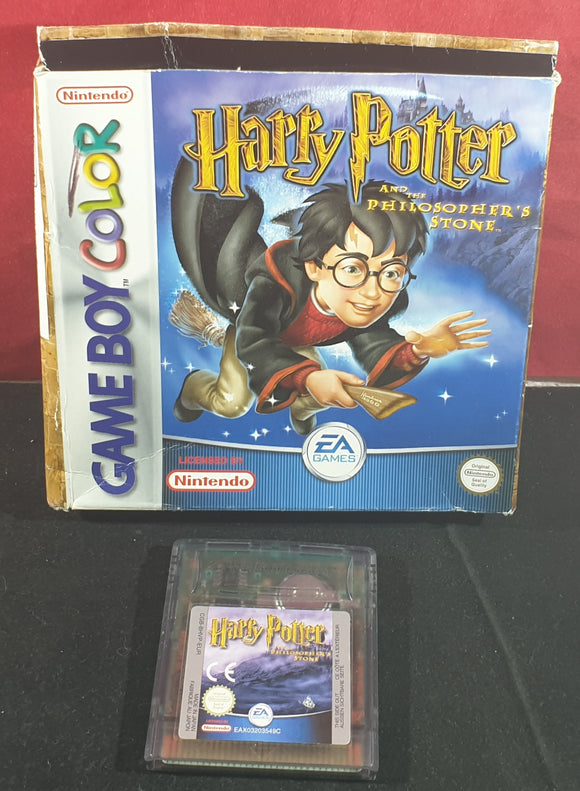 Harry Potter and the Philosopher's Stone Nintendo Game Boy Color Game