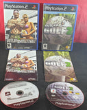 Outlaw Volleyball & Golf 2 Sony Playstation 2 (PS2) Game Bundle