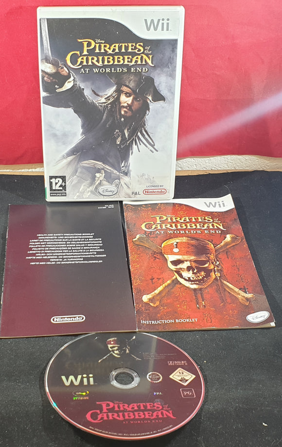Pirates of the Caribbean at Worlds End Nintendo Wii Game