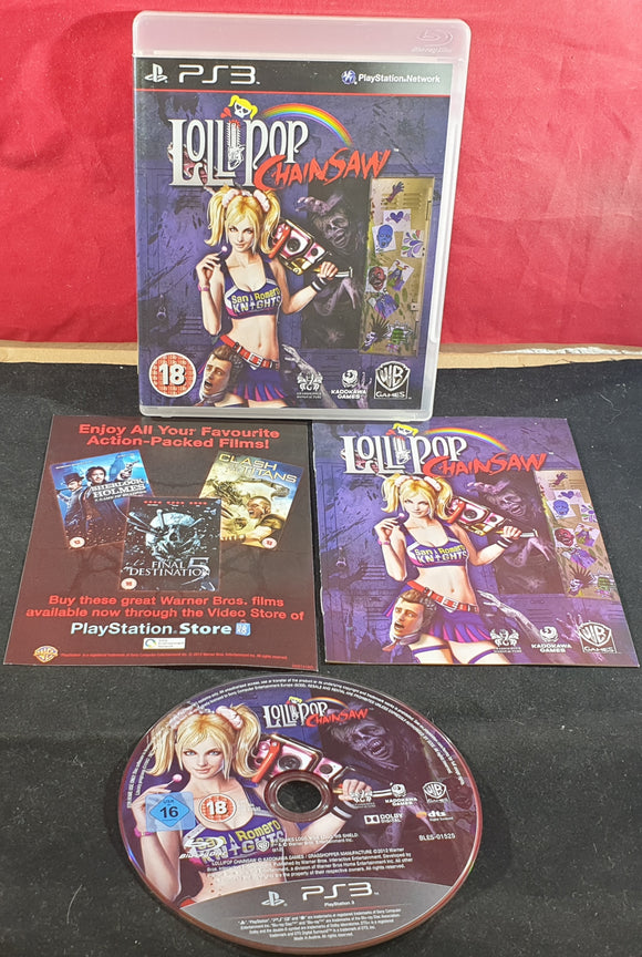 Lollipop Chainsaw Sony Playstation 3 (PS3) Game