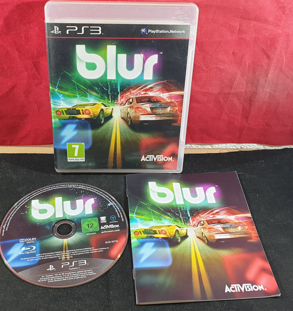 Blur Sony Playstation 3 (PS3) Game