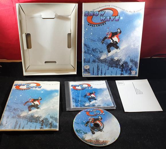 Snow Wave Avalanche PC RARE Game