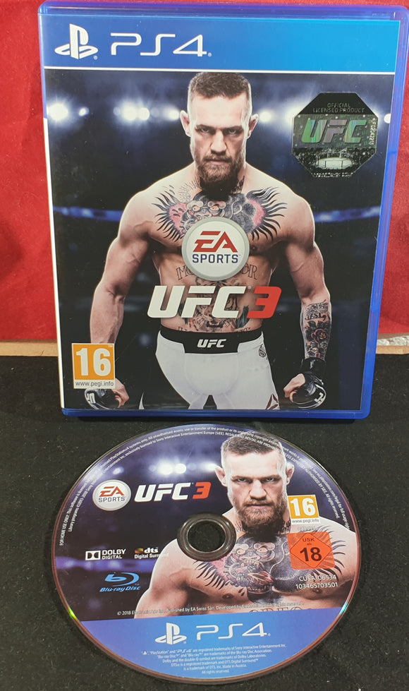 UFC 3 Sony Playstation 4 (PS4) Game