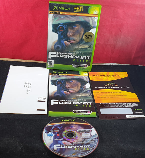 Operation Flashpoint Elite Microsoft Xbox Game