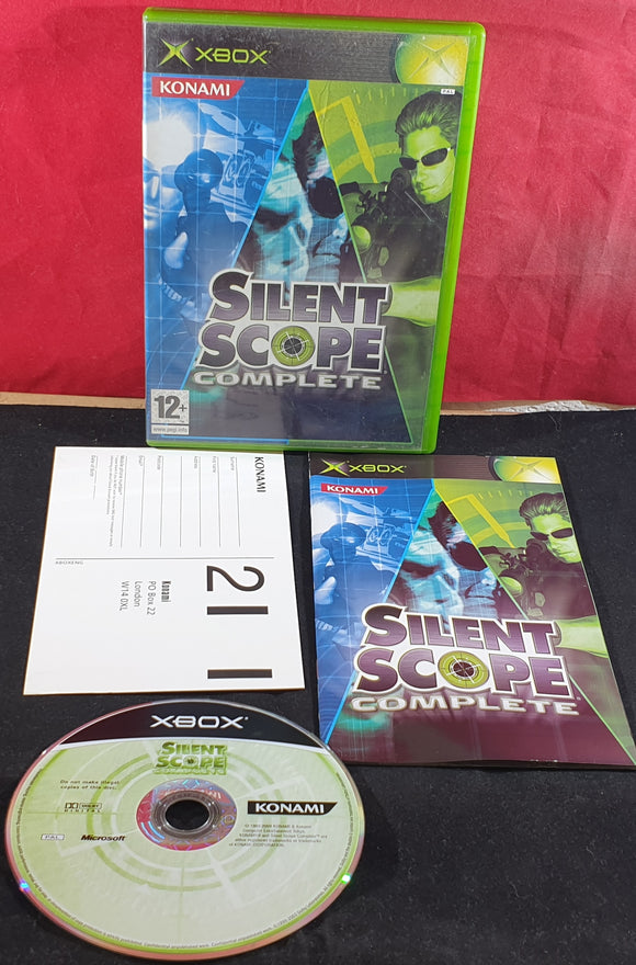 Silent Scope Complete Microsoft Xbox Game