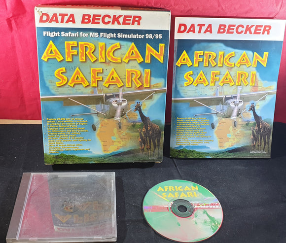 African Safari PC RARE Game