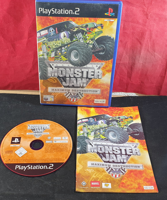 Monster Jam Maximum Destruction Sony Playstation 2 (PS2) Game