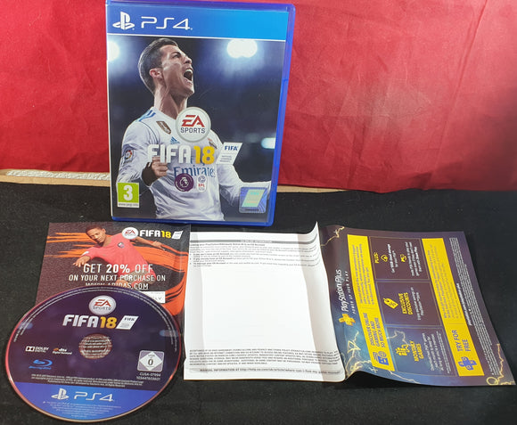 FIFA 18 Sony Playstation 4 (PS4)