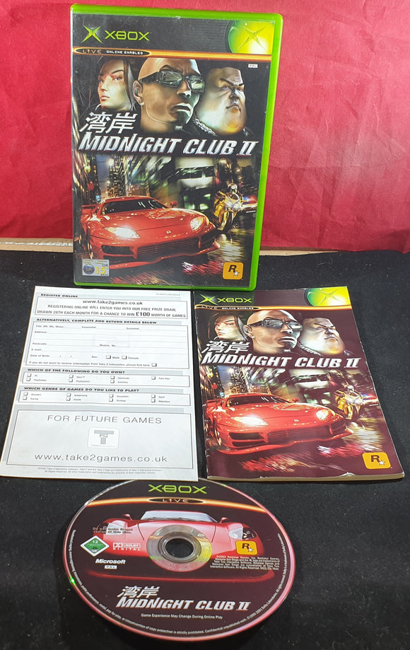 Midnight Club II Microsoft Xbox