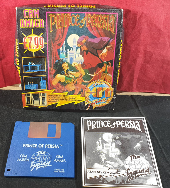 Prince of Persia Amiga Game