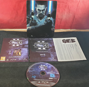 Star Wars the Force Unleashed II in RARE Steel Case Sony Playstation 3 (PS3) Game