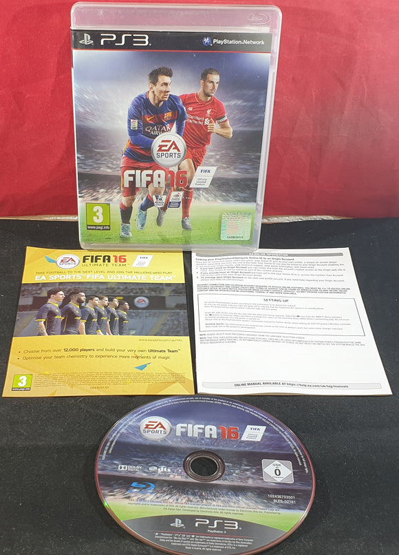 FIFA 16 Sony Playstation 3 (PS3) Game
