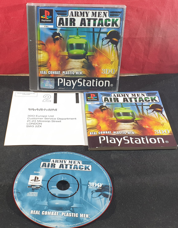 Army Men Air Attack Sony Playstation 1 (PS1) Game
