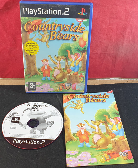 Countryside Bears Sony Playstation 2 (PS2) Game