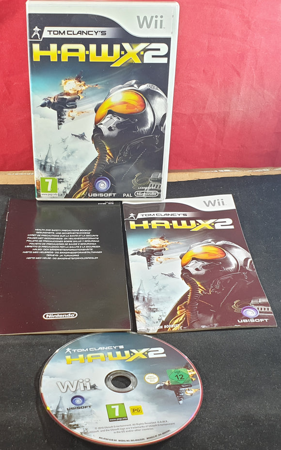 Tom Clancy's H.A.W.X 2 Nintendo Wii Game