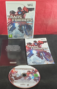 Transformers Cybertron Adventures Nintendo Wii Game