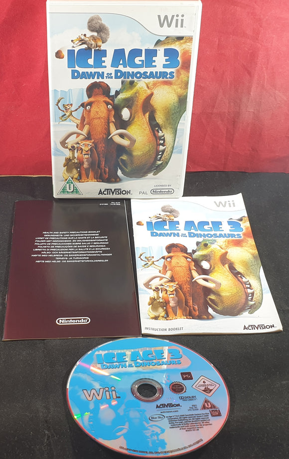 Ice Age 3 Dawn of the Dinosaurs Nintendo Wii Game