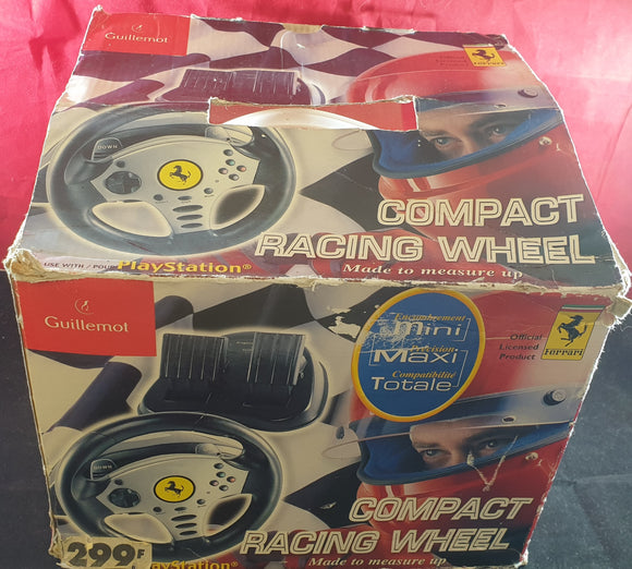 Ferrari Compact Racing Wheel Sony Playstation 2 (PS2) Accessory