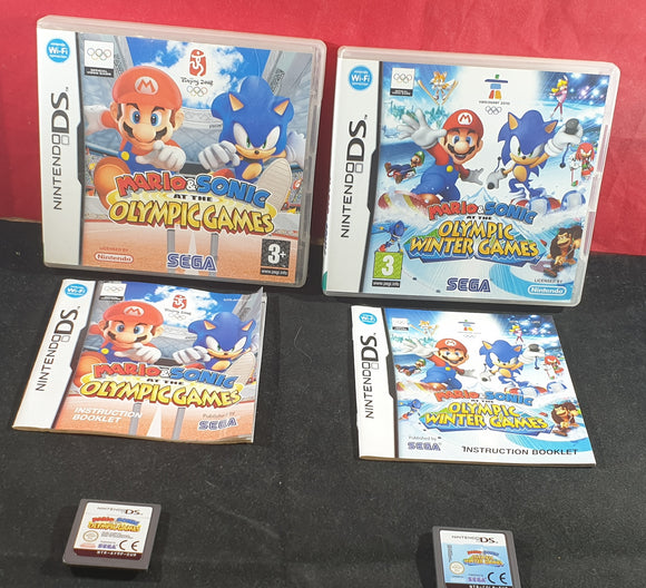 Mario & Sonic at the Olympic & Winter Olympic Games Nintendo DS Game Bundle
