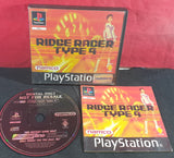 Ridge Racer Type 4 RARE Ex Rental Sony Playstation 1 (PS1) Game