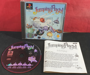 Jumping Flash Sony PlayStation 1 (PS1) Game