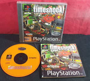 Timeshock! Sony Playstation 1 (PS1) Game