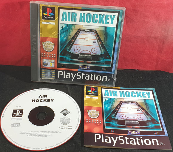Air Hockey Sony Playstation 1 (PS1) Game