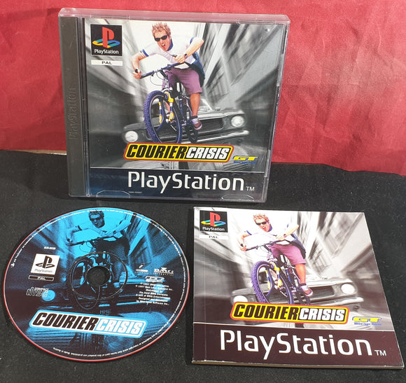 Courier Crisis Sony Playstation 1 (PS1) Game