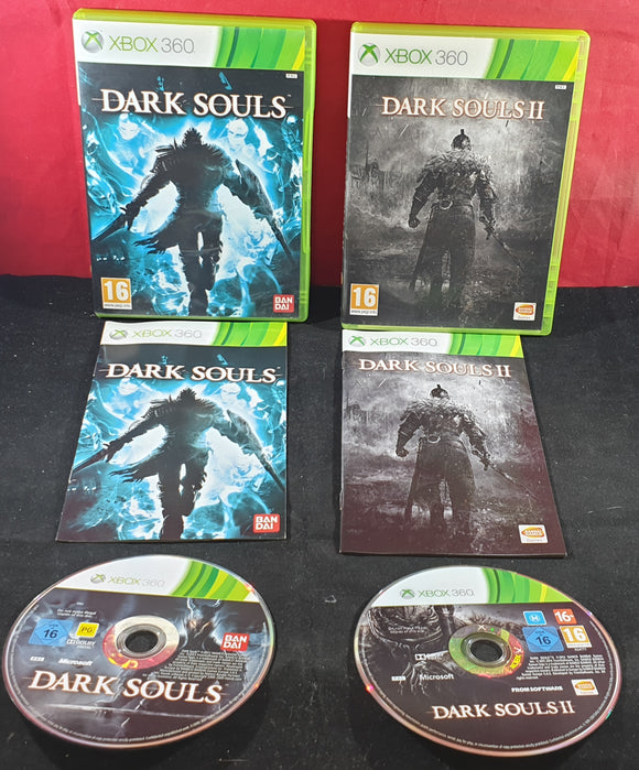 Dark Souls 1 & 2 Microsoft Xbox 360 Game Bundle