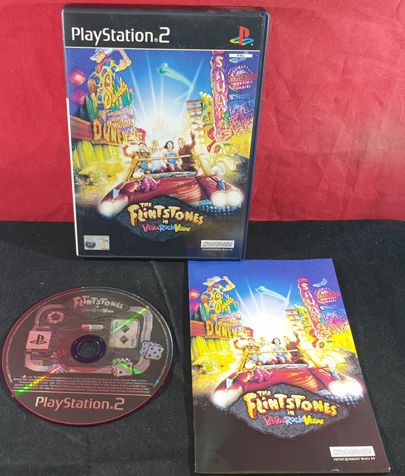 The Flinstones in Viva Rock Vegas Sony Playstation 2 (PS2) Game