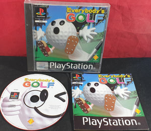 Everybody's Golf Sony Playstation 1 (PS1) Game