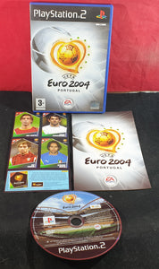 UEFA Euro 2004 Portugal with Stickers Sony Playstation 2 (PS2) Game