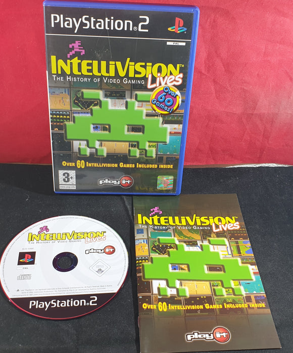 Intellivision Lives the History of Video Gaming Sony Playstation 2 (PS2) Game