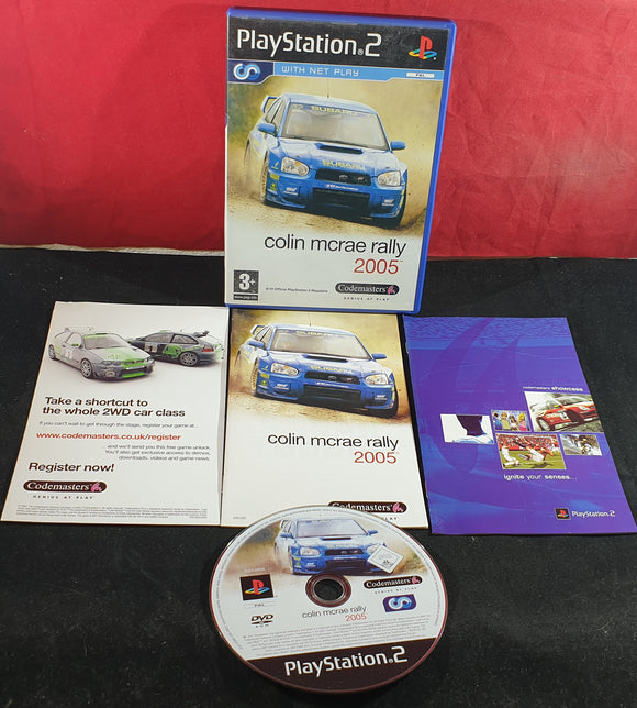 Colin McRae Rally 2005 Sony Playstation 2 (PS2) Game