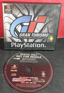 Gran Turismo RARE Ex Rental Sony Playstation 1 (PS1) Game
