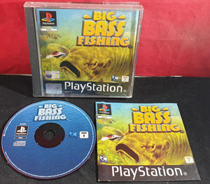 Big Bass Fishing Sony Playstation 1 (PS1) Game