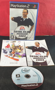 Total Club Manager 2004 Sony Playstation 2 (PS2) Game