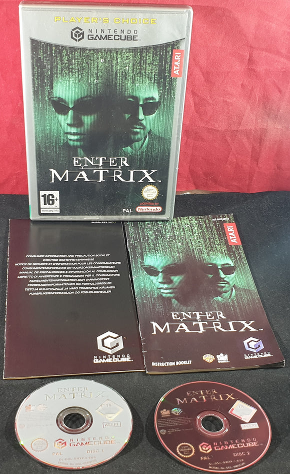 Enter The Matrix Nintendo Gamecube Game