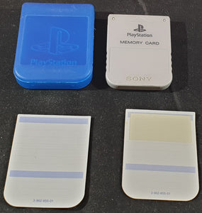 Official Playstation 1 (PS1) Memory Card SCPH 1020 in Case