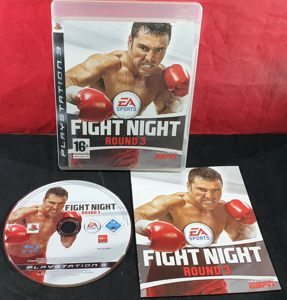 Fight Night Round 3 Sony Playstation 3 (PS3) Game