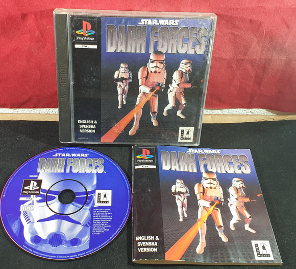 Star Wars Dark Forces Sony Playstation 1 (PS1) Game