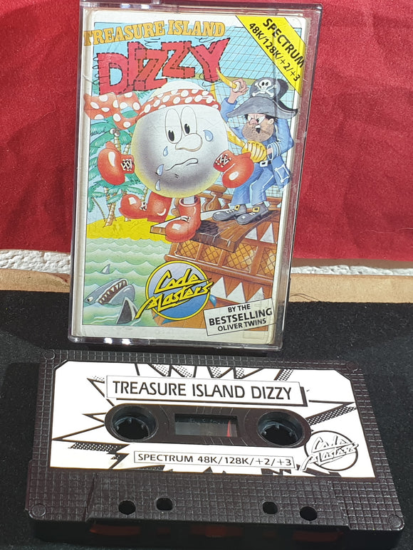 Treasure Island Dizzy ZX Spectrum Game