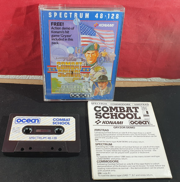 Combat School ZX Spectrum Game