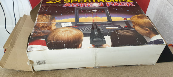 ZX Spectrum +2 Action Pack Console complete and working