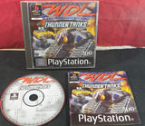 World Destruction League Thunder Tanks Sony Playstation 1 (PS1) Game