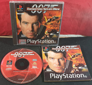 Tomorrow Never Dies with RARE Front Inlay & Fat Manual Sony Playstation 1 (PS1) Game
