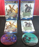 Medal of Honor Frontline & Rising Sun Sony Playstation 2 (PS2) Game Bundle