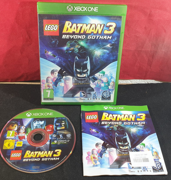 Lego Batman 3 Beyond Gotham Microsoft Xbox One Game