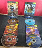 Lord of the Rings & Hobbit X 4 Microsoft Xbox Game Bundle