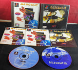Descent 1 & 2 Sony Playstation 1 (PS1) Game Bundle